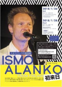 ISMO ALANKO来日公演フライヤー1