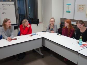 新留学生左からKukka, Saija, Anna, Elina, Emmi