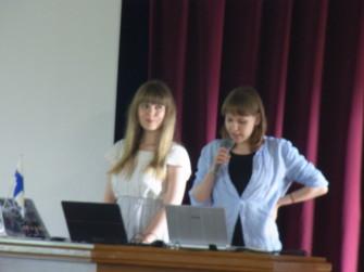 ネッタ・ホンギスト(Netta Hongisto)さんとミア・ティッロネン(Mia Tillonen)さん